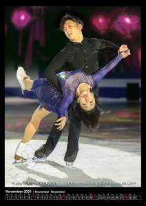 Wenjing SUI / Cong HAN_CHN-1st Pairs, Foto: Turin; Grand Prix Finale 2019