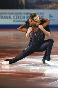 Vanessa JAMES , Morgan CIPRES   FRA 3rd Pairs