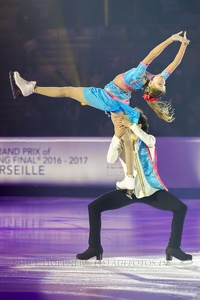 Angelique ABACHKINA ,  Louis THAURON FRA 5th Junior Ice Dance