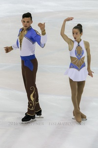 14 Hailey Esther KOPS , Artem TSOGLIN (ISR)