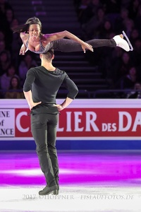 Vanessa JAMES, Morgan CIPRES   FRA  Pairs 8th