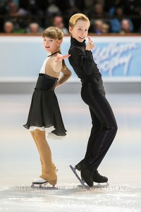 Mia Lee MAYER, Tobias HUBER GER - local skaters