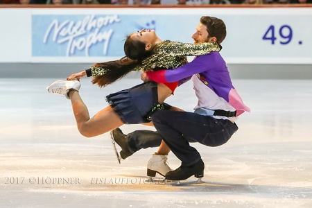Yura MIN, Alexander GAMELIN (KOR) - 4th place lce Danc