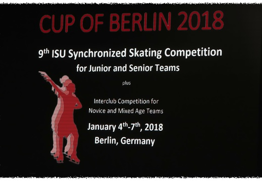 Synchron Cup of Berlin 2018