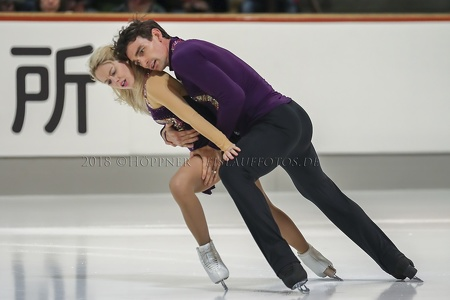 Pairs 2nd place_Alexa SCIMECA KNIERIM / Chris KNIERIM_USA