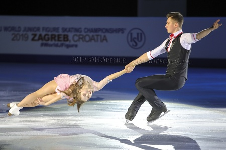 Anastasia MISHINA / Aleksandr GALLIAMOV_RUS - 1st Junior Pairs